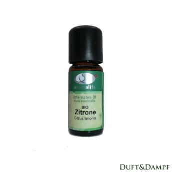 Zitrone ätherisches Öl Bio 10ml