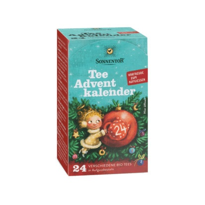 Sonnentor Tee Adventkalender Bio 24 Beutel