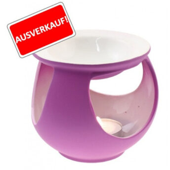 Duftlampe Keramik, lila