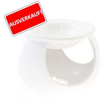 Duftlampe Keramik, weiss