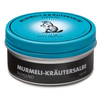 Murmeli-Kräutersalbe kühlend