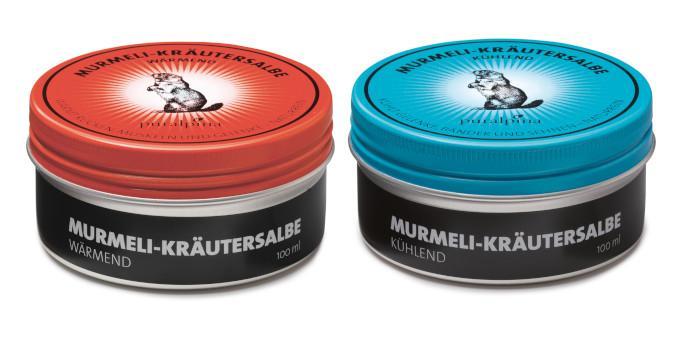 Murmeli-Kräutersalben von puralpina