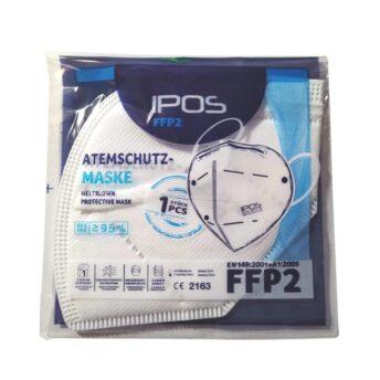 FFP2 Atemschutzmaske von IPOS – MUSK001 – CE2163 1 Stk.