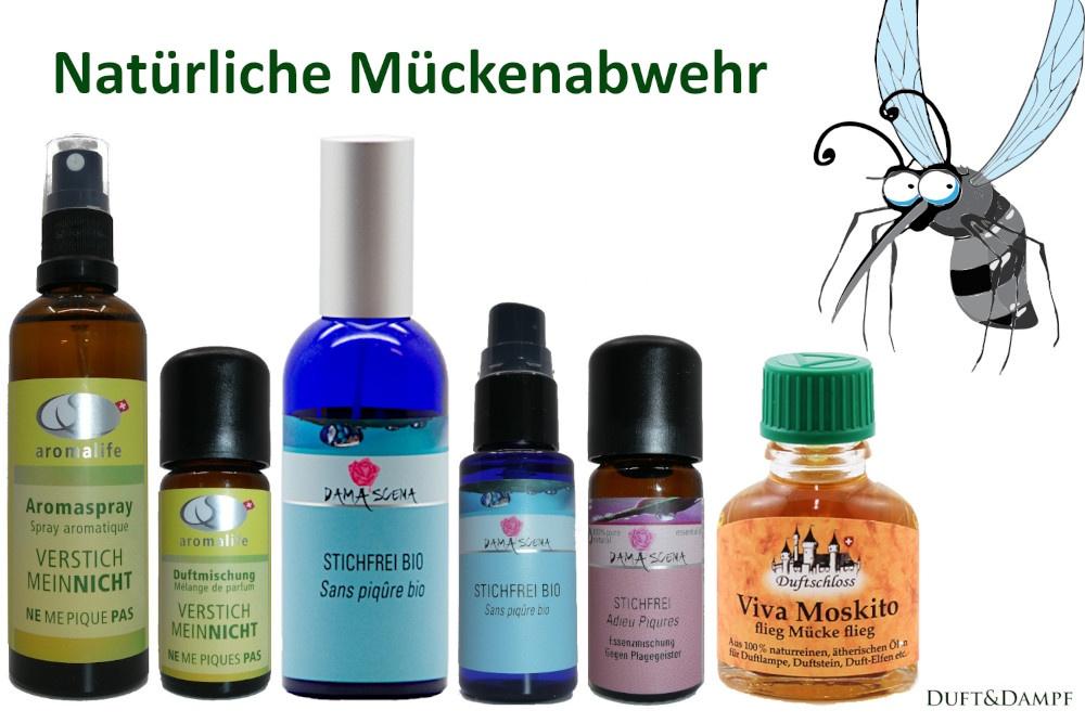 Natürliche Mückenabwehr mit unseren Produkten